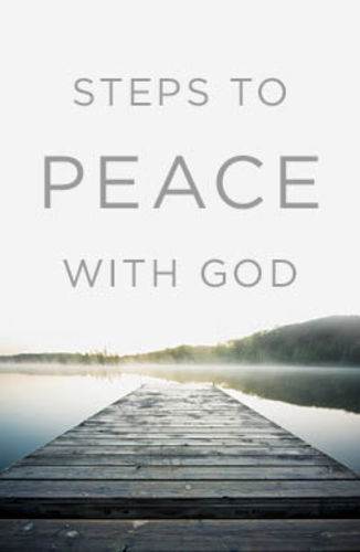 Steps to Peace With God - KJV (25-pack of English tracts)