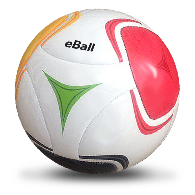 Eball Soccer Balls size 5 - Uses Wordless Book Colors